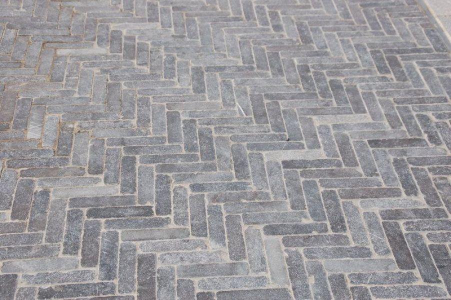 Chinese Natuursteen Tegels.Blauwsteenspecialist Chinese Hardsteen Verzoet Getrommeld Tegels